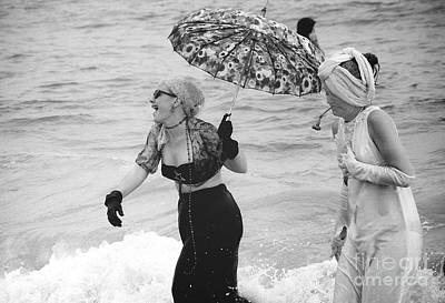 Photograph - Mermaid Parade C. 1995 by Tom Callan