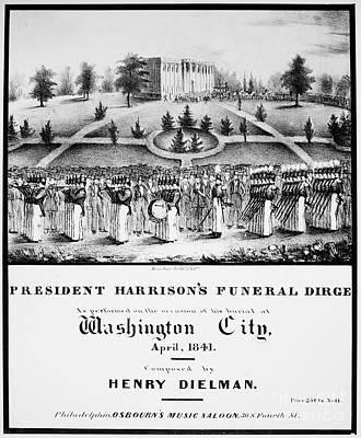 William Henry Harrison Art Print by Granger