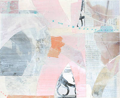 Abstract Collage Drawing - Untitled by Alexandra Sheldon