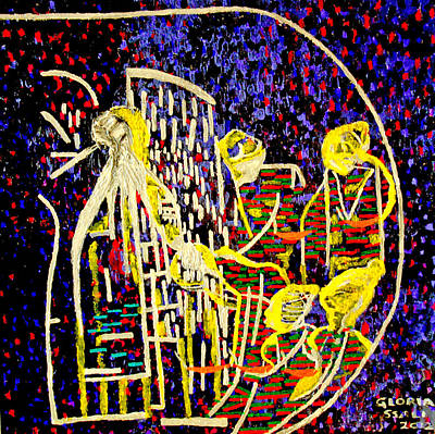 Beloved Saviour Painting - Wise Virgins by Gloria Ssali