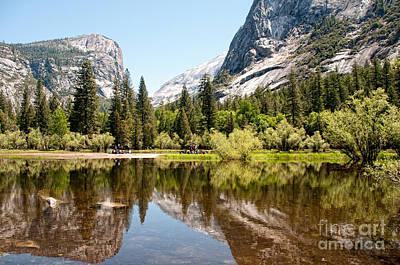 Yosemite Art Print by Carol Ailles
