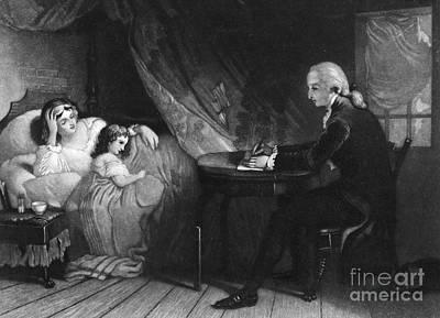 George Washington Art Print by Granger
