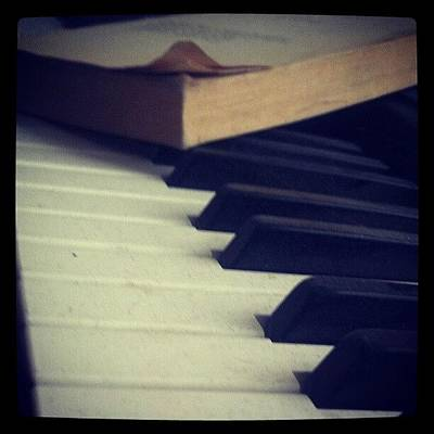 Piano Photograph - #snow #photography #funny #art #scenery by Adam Snow
