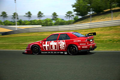 Photograph - 155 2.5 V6 Ti Touring Car by Dick Botkin
