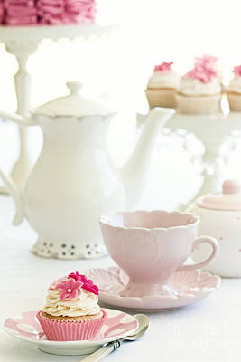 Afternoon Tea Art Print by Ruth Black