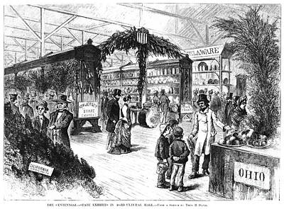 Centennial Fair, 1876 Art Print by Granger