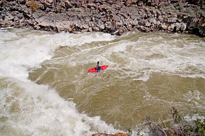City Scenes - Kayaking by Elijah Weber