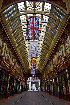 Leadenhall Market London Art Print by David Pyatt