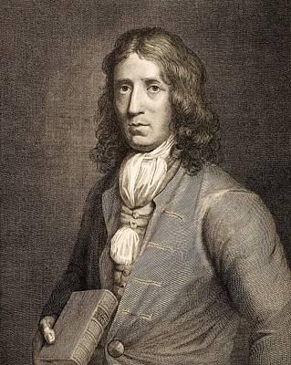 1698 William Dampier Pirate Naturalist Art Print by Paul D Stewart