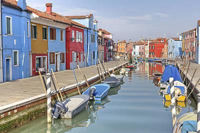Venedig Photograph - Burano by Joana Kruse