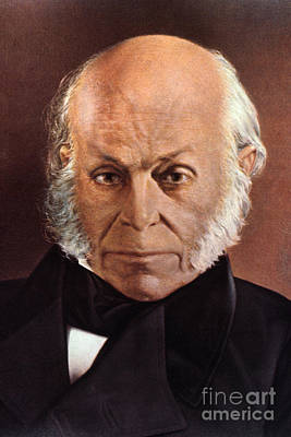 Photograph - John Quincy Adams by Granger