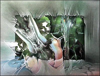 Mixed Media - #17 Plantnudecomp 2003 by Glenn Bautista