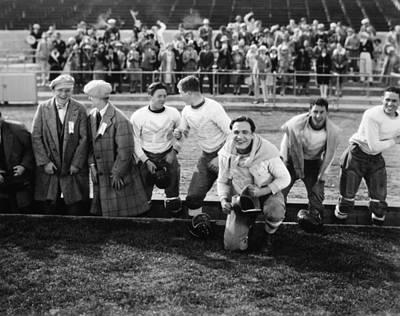 Photograph - Silent Film Still: Sports by Granger