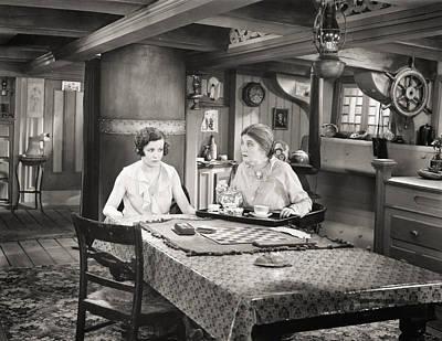 Photograph - Silent Film Still: Women by Granger