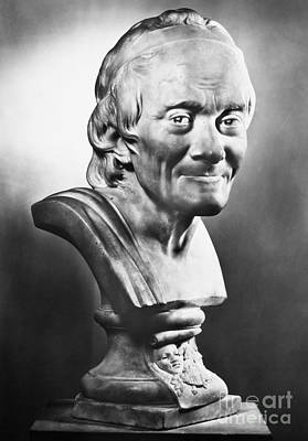 Photograph - Voltaire (1694-1778) by Granger