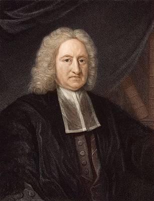 Periodicity Photograph - 1736 Edmond Halley Astronomer & Physicist by Paul D Stewart