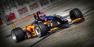 Indy Car Photograph - Lbgp by Craig Incardone