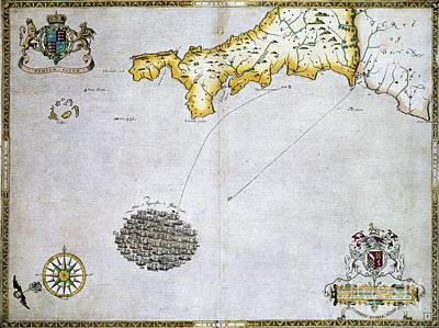 Spanish Armada, 1588 Art Print by Granger