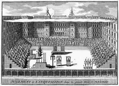 Spanish Inquisition Art Print by Granger