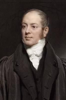Conybeare Photograph - 1833 Reverend William Buckland Portrait by Paul D Stewart