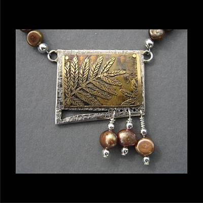 Jewelry - 185 Fren With Freshwater Pearls by Brenda Berdnik