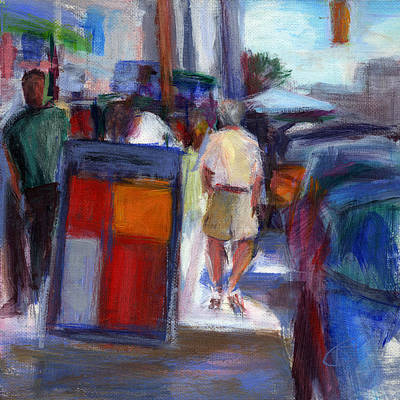 Market Day Painting - Rcnpaintings.com by Chris N Rohrbach
