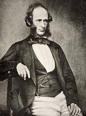 Biface Photograph - 1855 Joseph Prestwich Portrait Photograph by Paul D Stewart