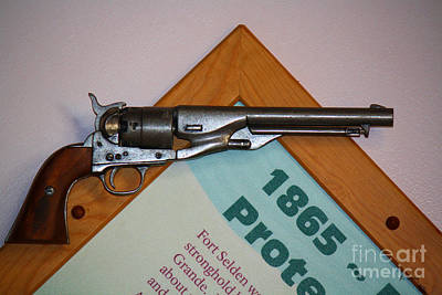 Photograph - 1865 Gun by Roena King