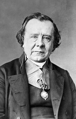 1870 Bishop Samuel Wilberforce Photograph Art Print