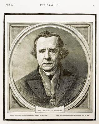 1873 Bishop Samuel Wilberforce Death Art Print