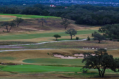 Photograph - 18th Green At Tpc San Antonio by Ed Gleichman