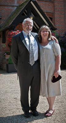 Photograph - Samamywedding2012 by Chris Boulton