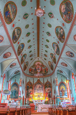 Photograph - 19 St. Ignatius Catholic Church Interior Portrait by Katie LaSalle-Lowery