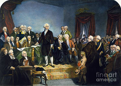 Photograph - Washington: Inauguration by Granger