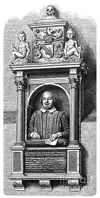 William Shakespeare Art Print by Granger