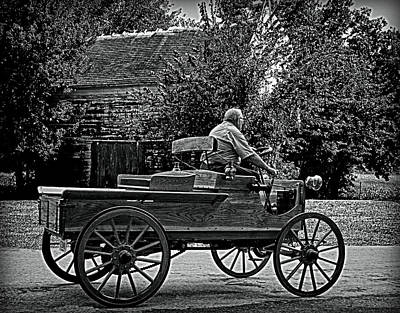 Photograph - 1903 Mercury Horseless Wagon by Tim McCullough