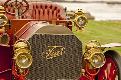 Photograph - 1905 Fiat 60hp Quimby Touring by Jill Reger