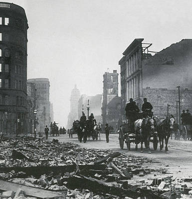 Photograph - 1906 San Francisco Earthquake by Science Source