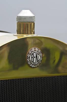 Photograph - 1908 Benz Grand Prix Hood Emblem by Jill Reger