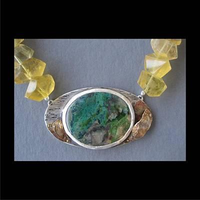 Jewelry - 191 Mountains Of Quartz by Brenda Berdnik