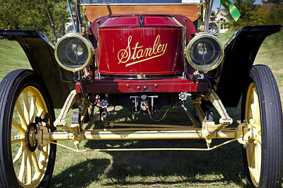 Photograph - 1910 Stanley Model 61 by Jack R Perry