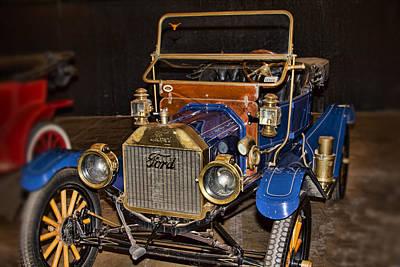 1911 Ford Model T Art Print by Douglas Barnard