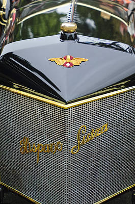 Photograph - 1912 Hispano-suiza 15-45 Hp Alfonso Xiii Jaquot Torpedo Grille by Jill Reger