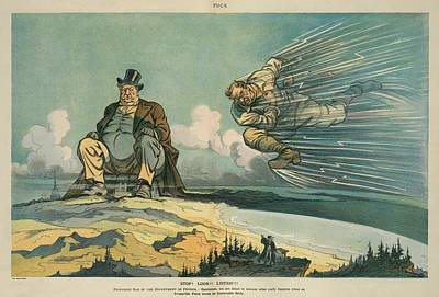 1912 President Election Cartoon Art Print
