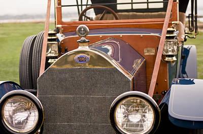Photograph - 1913 Fiat Type 56 7 Passenger Touring by Jill Reger