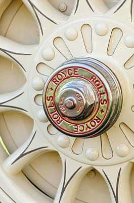 Photograph - 1914 Rolls-royce 40-50 Silver Ghost Landaulette Wheel by Jill Reger