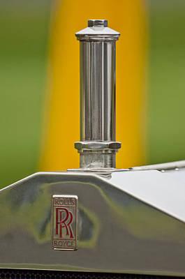 Photograph - 1914 Rolls-royce Silver Ghost Alpine Eagle Portholme Torpedo Hood Ornament by Jill Reger