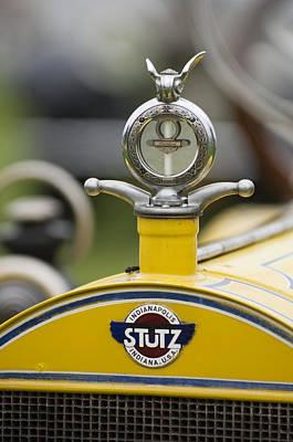 Photograph - 1914 Stutz Series E Bearcat Hood Ornament by Jill Reger