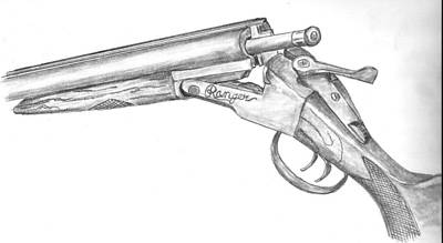 Drawing - 1915 Ranger 410 by Kevin Callahan