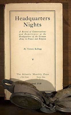 Social Darwinism Photograph - 1917 Headquarters Nights Vernon Kellogg by Paul D Stewart